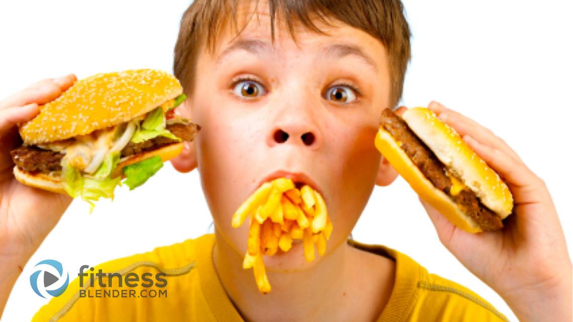 Fast Food Obesity Children Excuses Surroun...
