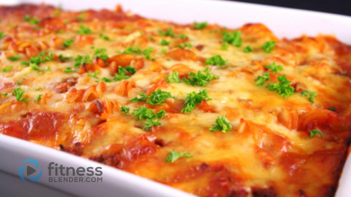 What is a quick vegeterian lasagna recipe?