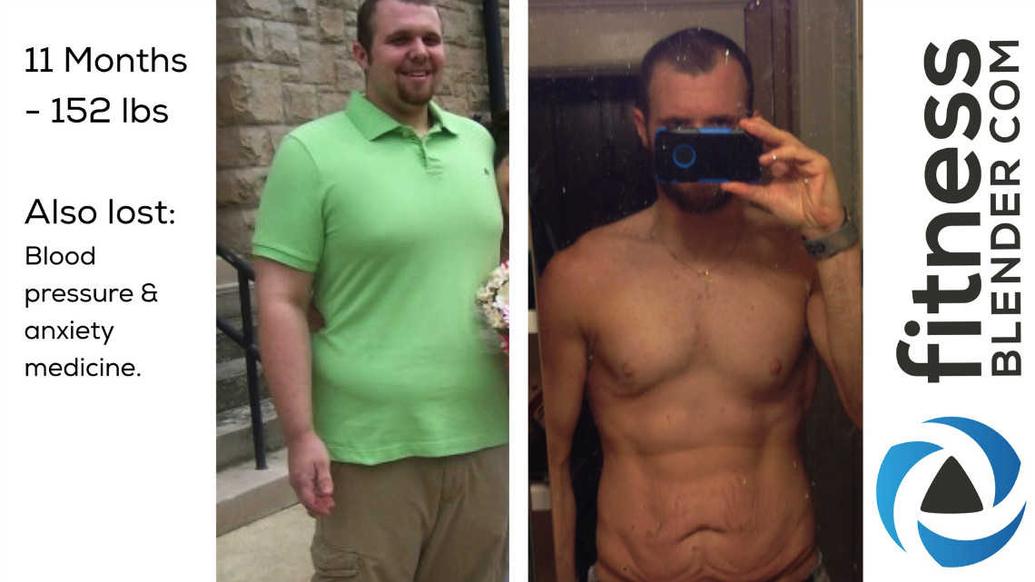 And After Weight Loss Story: Tyler, 152 lbs Down and Medication Free ...