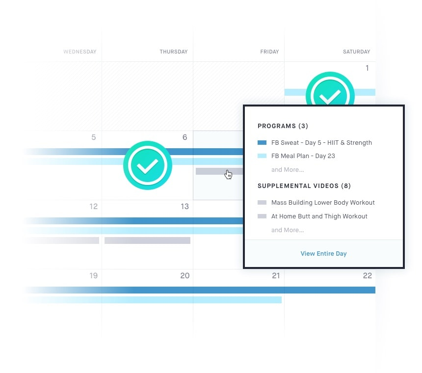 d43ed8662ae A customizable calendar to manage your programs and monitor your progress.