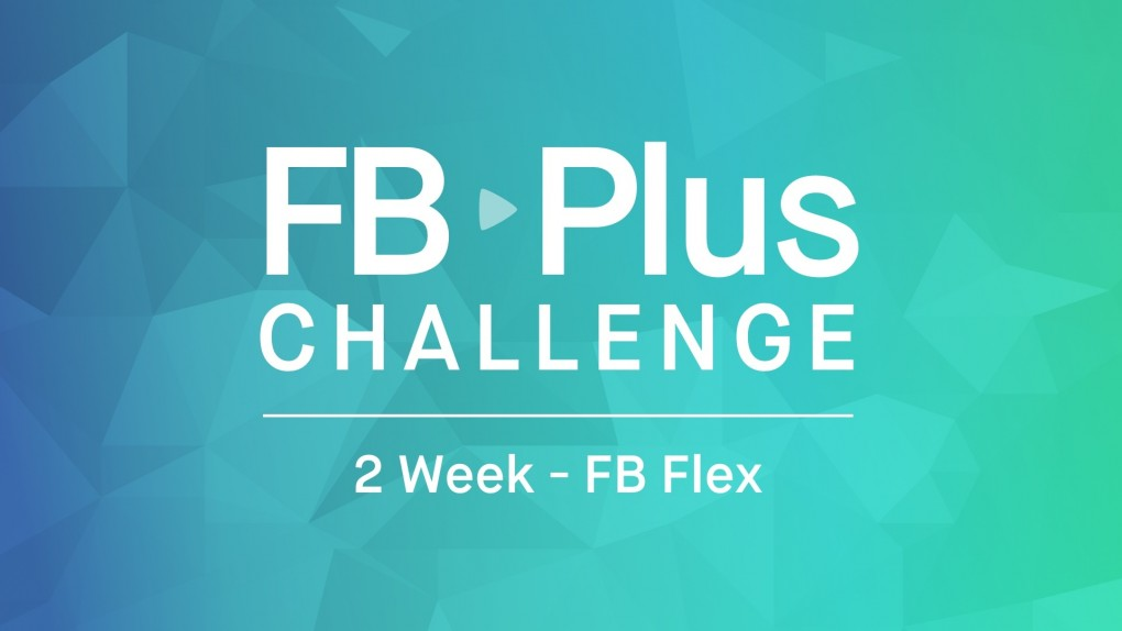 2 Week FB Flex Challenge for the Upper Body