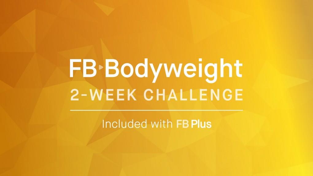 2 Week FB Bodyweight Challenge