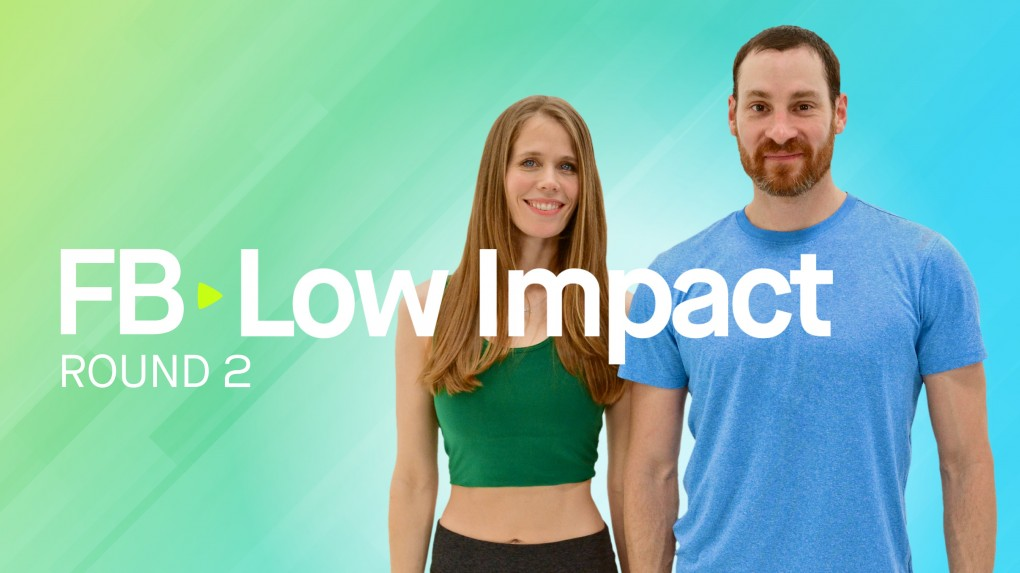 FB Low Impact Round 2 - Build Muscle & Burn Fat - 40 Minutes or Less