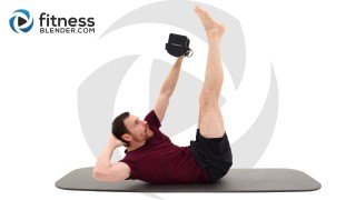 Intense 10 Minute Abdominal Strength Workout - Home Functional Core Strength