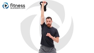 Quick Sweat Kettlebell and Jump Rope - Strength and Cardio Workout