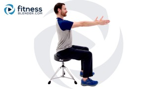 Beginner Total Body Chair Workout - Seated Workout to Build Strength and Endurance