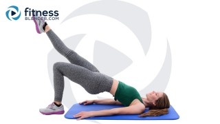 Strength Training and Pilates Workout - Dynamic Lower Body Workout for People who get Bored Easily