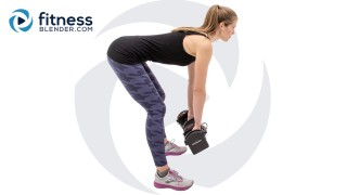 HIIT Pilates Strength Workout - Lower Body Workout for People who Get Bored Easily
