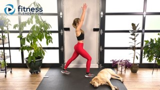 Energy Boosting Cardio Warm Up and Glute Activation Workout