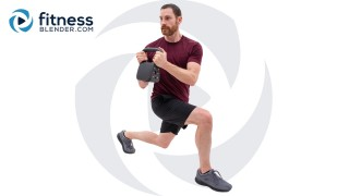 50 Minute Lower Body Kettlebell Workout - At Home Kettlebell Workout To Build Strength and Speed