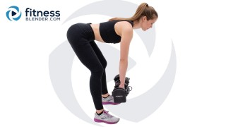45 Minute Total Body Strength Workout - Upper & Lower Body Superset Strength