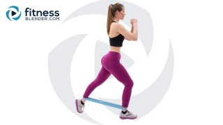 Resistance Band Butt and Thigh Workout - Lower Body Burnout