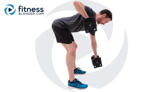 42 Minute Upper Body Strength with Alternating Repetitions and Cardio Intervals