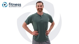 Upper Body Strength to Improve Posture - Home Bodyweight or Dumbbell Posture Workout