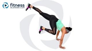 Bodyweight HIIT Workout - Total Body Cardio Tabata
