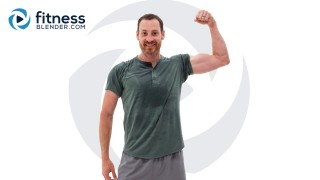 Controlled Upper Body Strength with Cardio and Negative Burnout