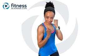 Bodyweight Cardio Interval Kickboxing