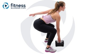 10 Minute Lower Body Strength Workout: Butt and Thigh Burnout
