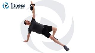 Epic 55 Minute Kettlebell Workout - Total Body Kettlebell Strength