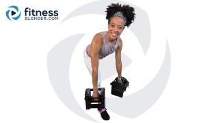 Circuit-Style Lower Body Strength with Cardio Bursts