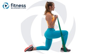 Resistance Band Upper Body Workout (Bored Easily Style)