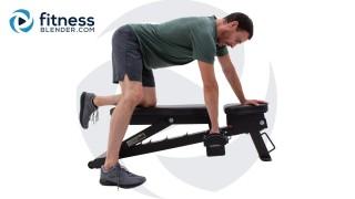 Upper Body 3-Day Split - Back and Biceps Strength Workout Split