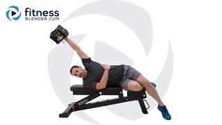 Upper Body 3-Day Split - Shoulders and Lats Strength Workout Split