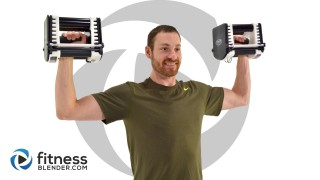 Quick 10 Minute Upper Body Strength Workout - (Bored Easily)