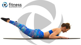 20 Minute Pilates Workout: Pilates Butt and Thigh Workout