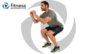Low Impact Cardio and Abs Workout with Warm Up and Cool Down