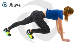 HIIT Cardio and Butt and Thigh Workout - HIIT and Strength