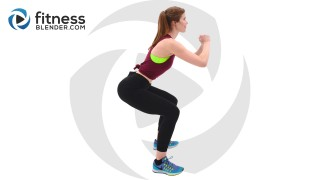 Resistance Band Workout for Butt and Thighs - 10 Minute Lower Body Training