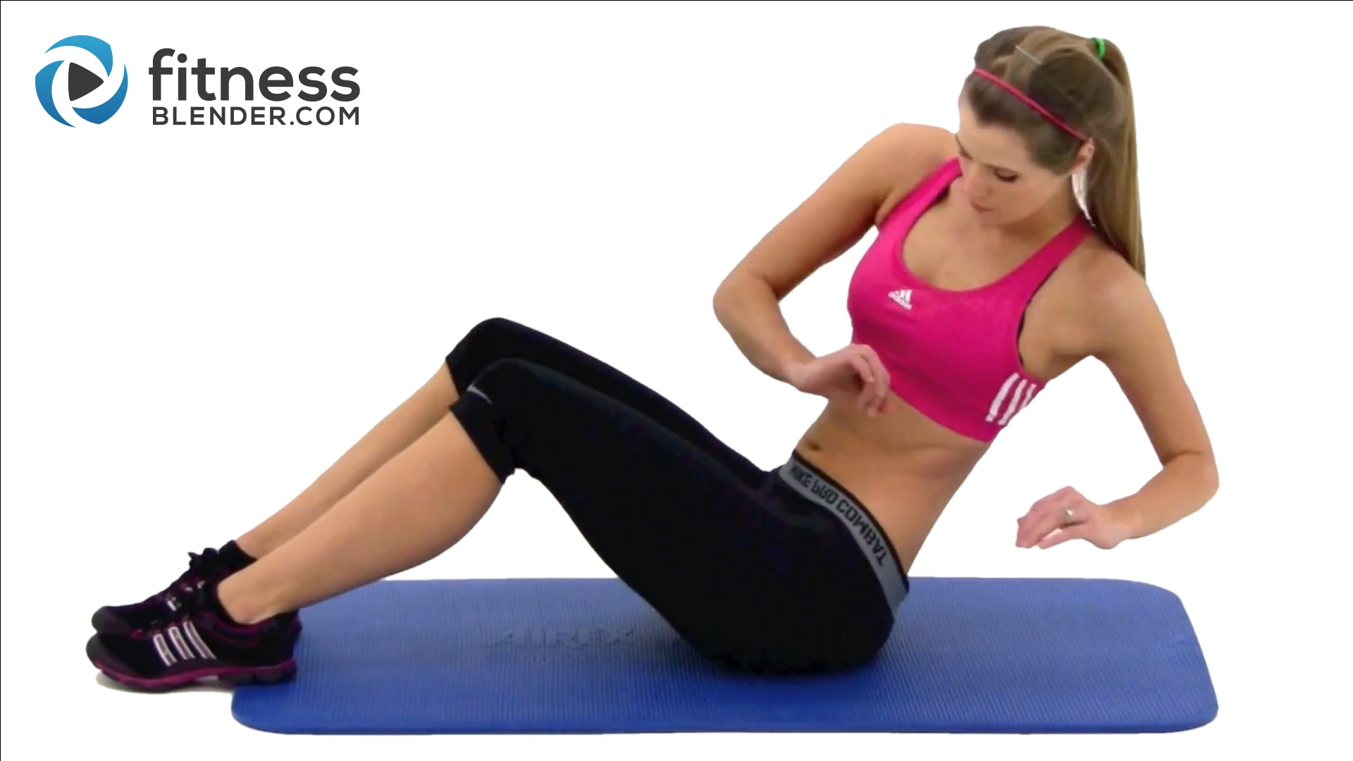 10 Min Abs Workout At Home Abdominal And Oblique Exercises Fitness Blender