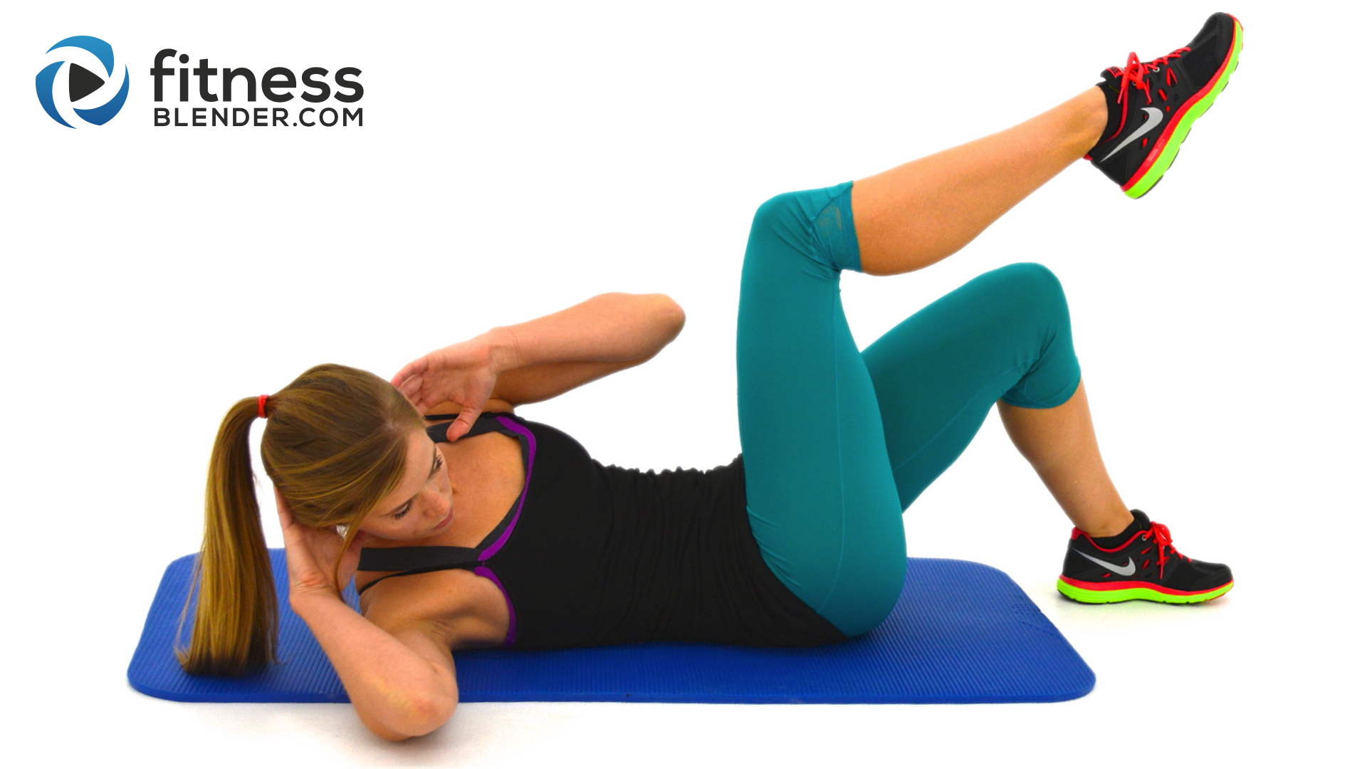 10 Minute Abs Workout At Home Abs And Obliques Exercises