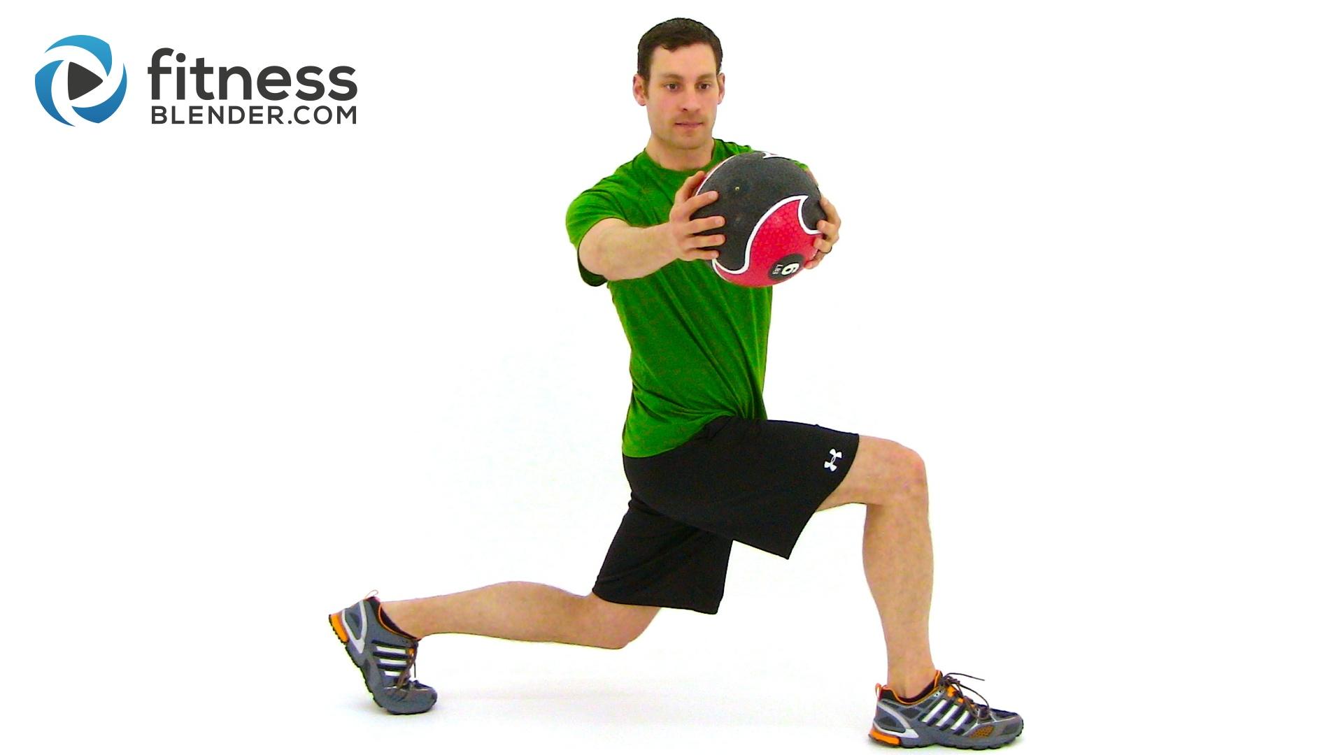27 Minute Total Body Medicine Ball Workout - Medicine Ball ...