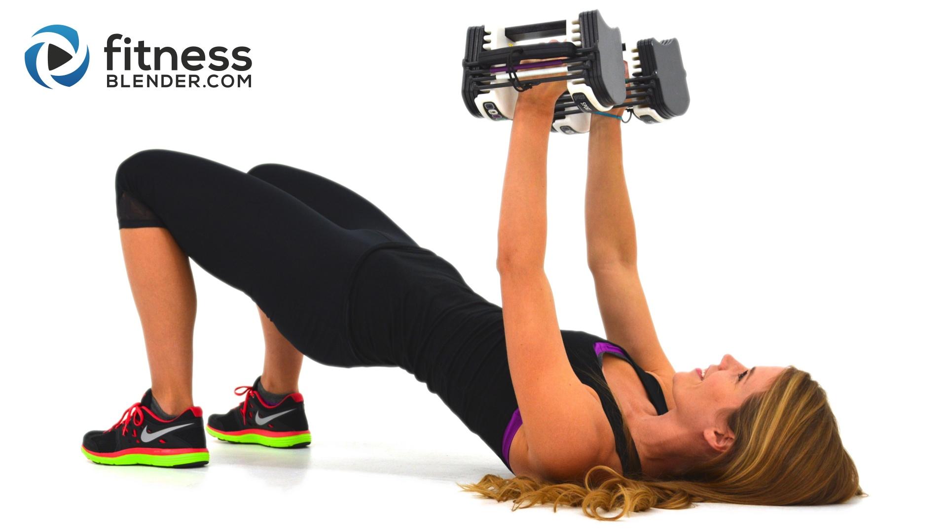 Upper Body Sut Workout With Fat Burning Cardio Intervals Arm Chest Back Shoulder Fitness Blender