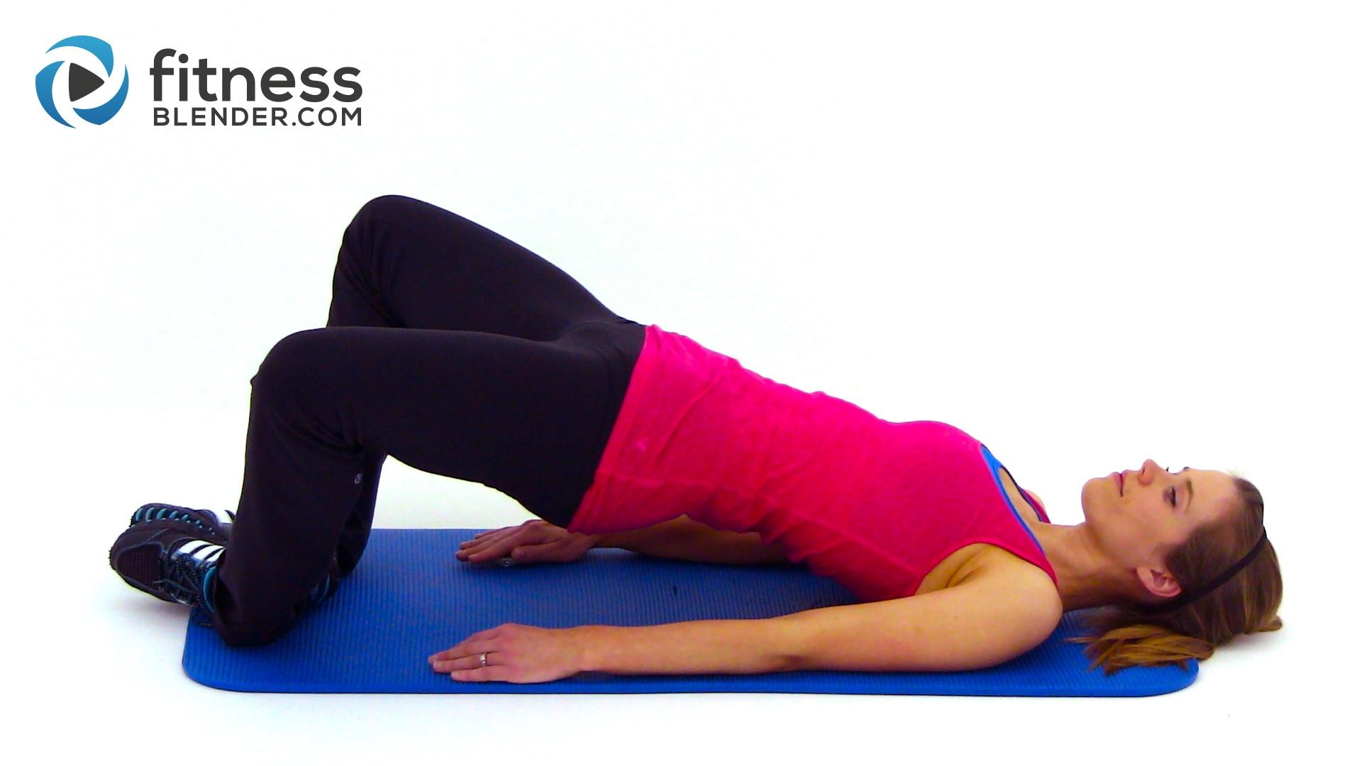 Glute Exercises Fitness Blender | Sport Fatare