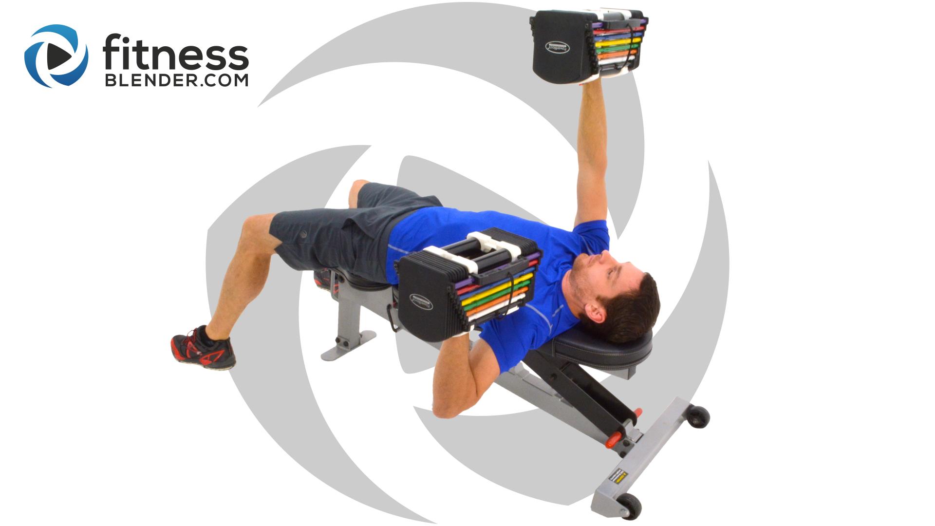 Fitness Blender Upper Body Strength Training