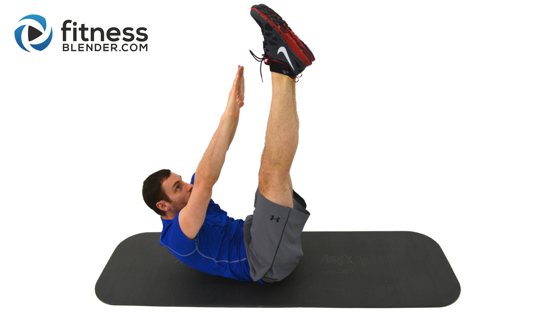 8 Minute Abs Core Firming At Home Ab Workout Fitness Blender Circuit Training On Pinterest Lower Body Bodies And