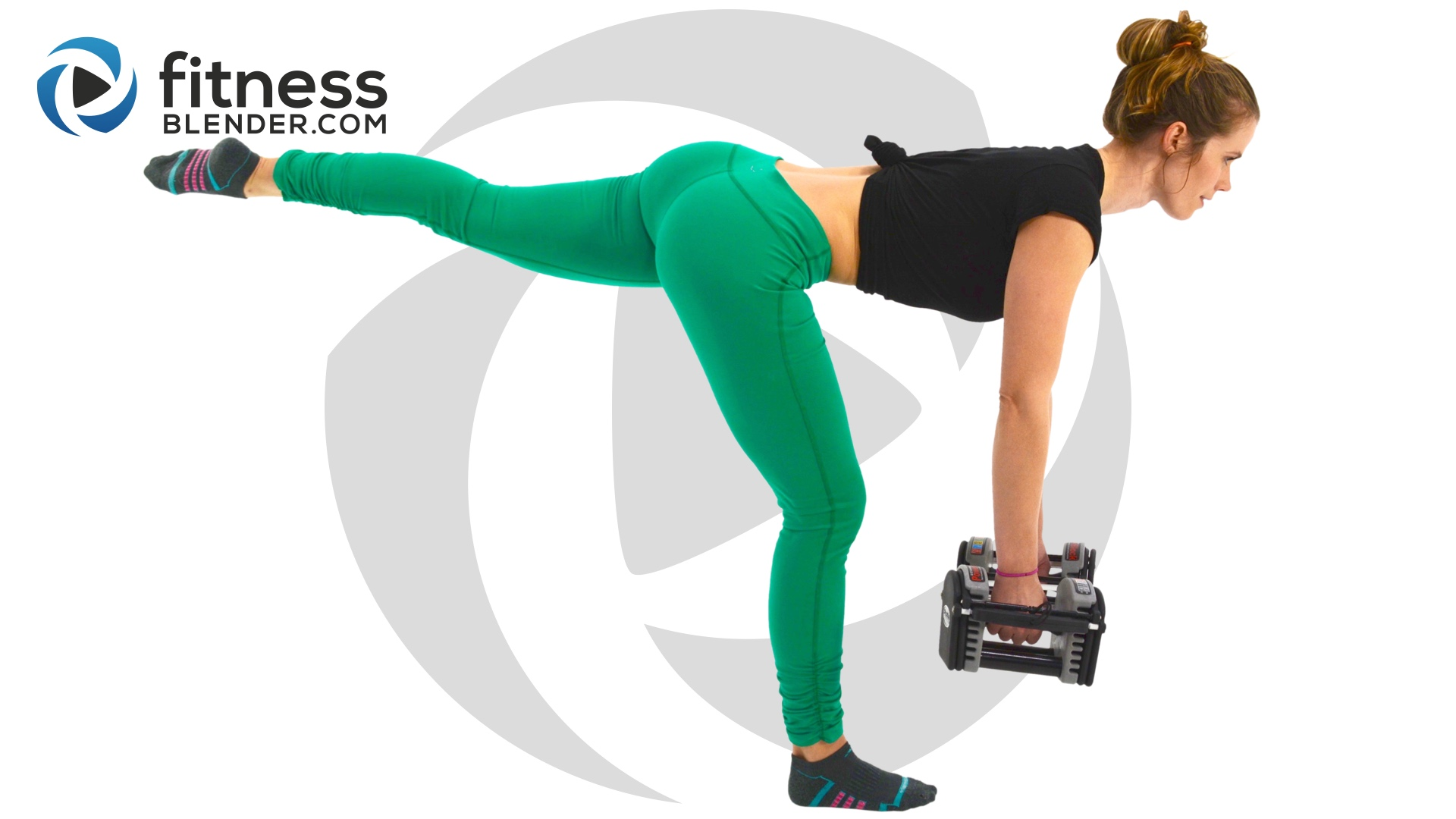 At Home And Thigh Workout Booty Sculpting Lower Body Strength Training Fitness Blender