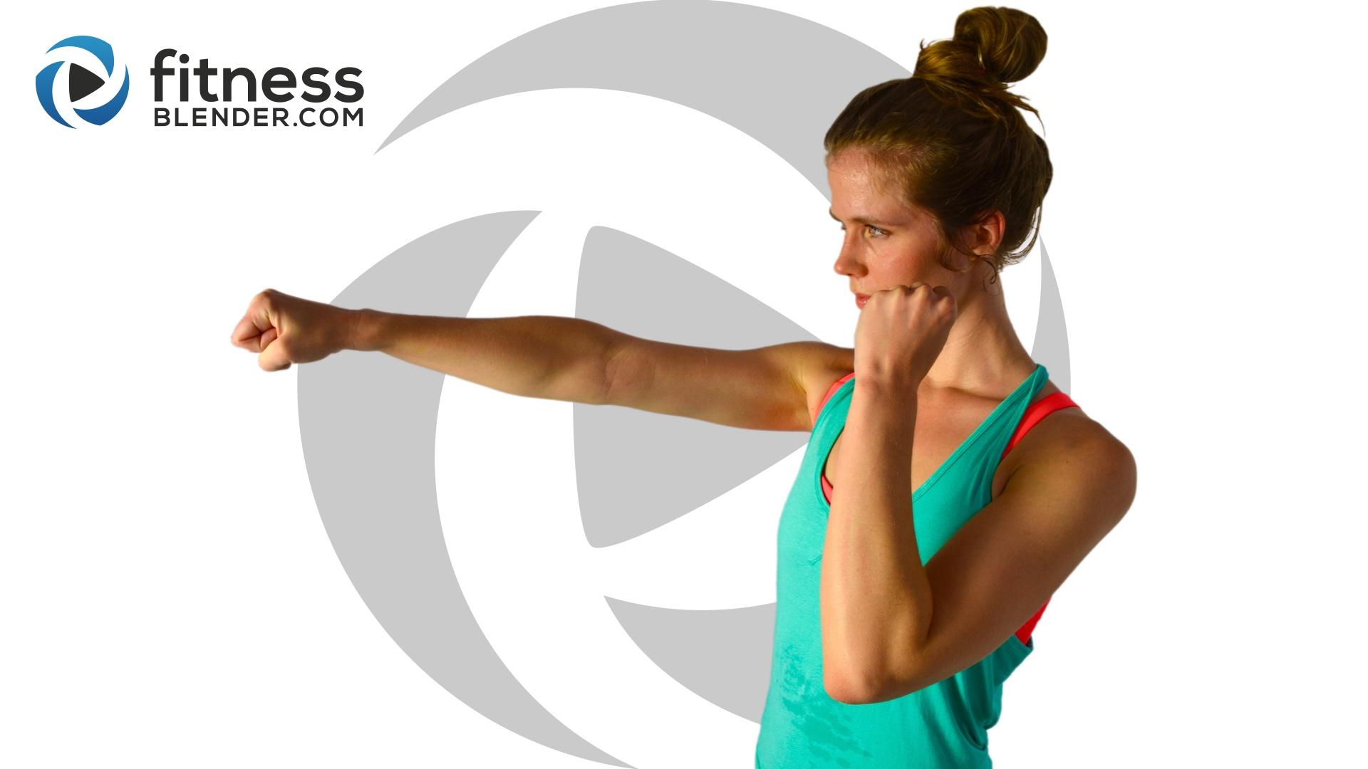 Fitness Blender Kickboxing Workout