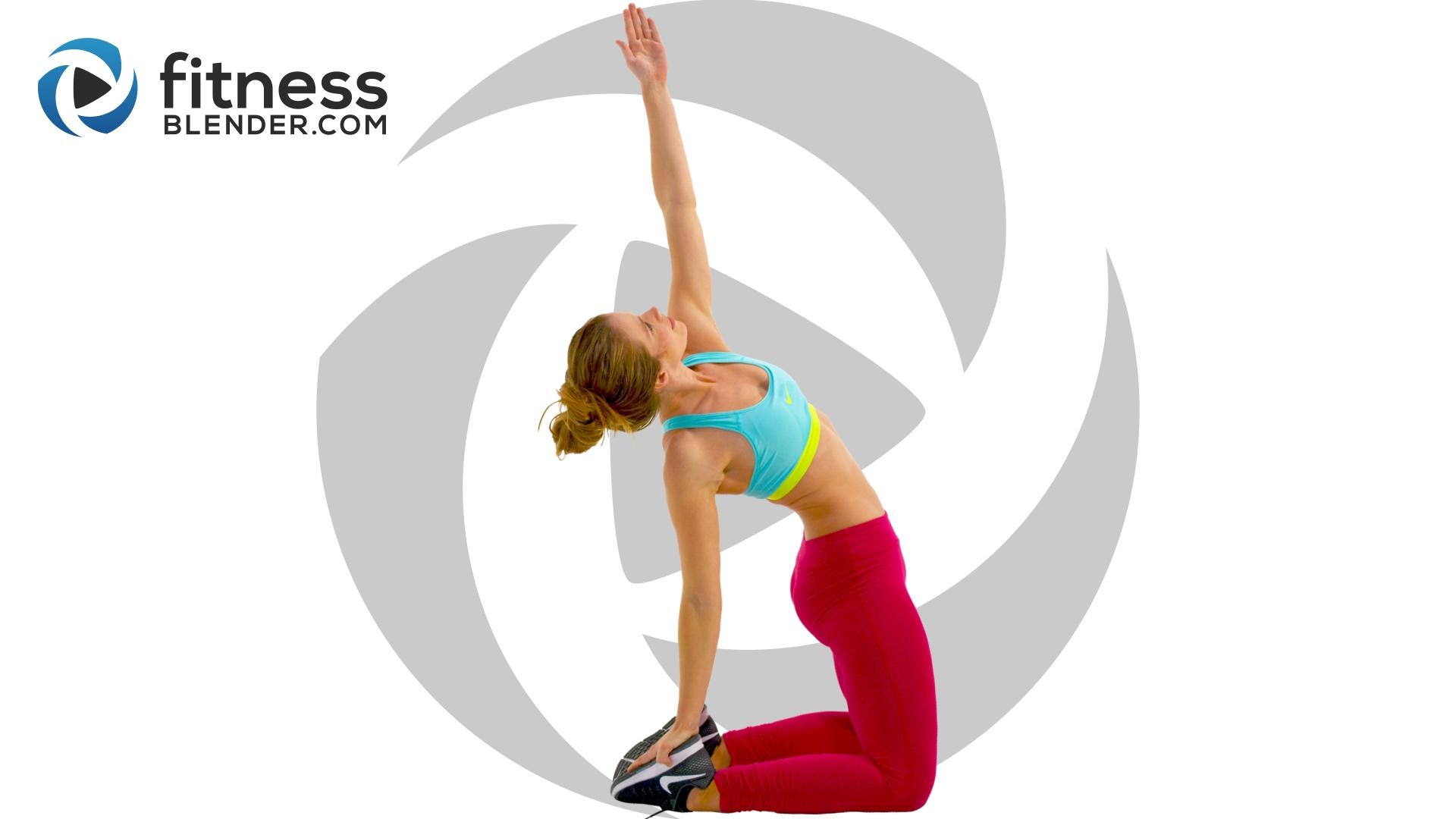 Low impact ab workout