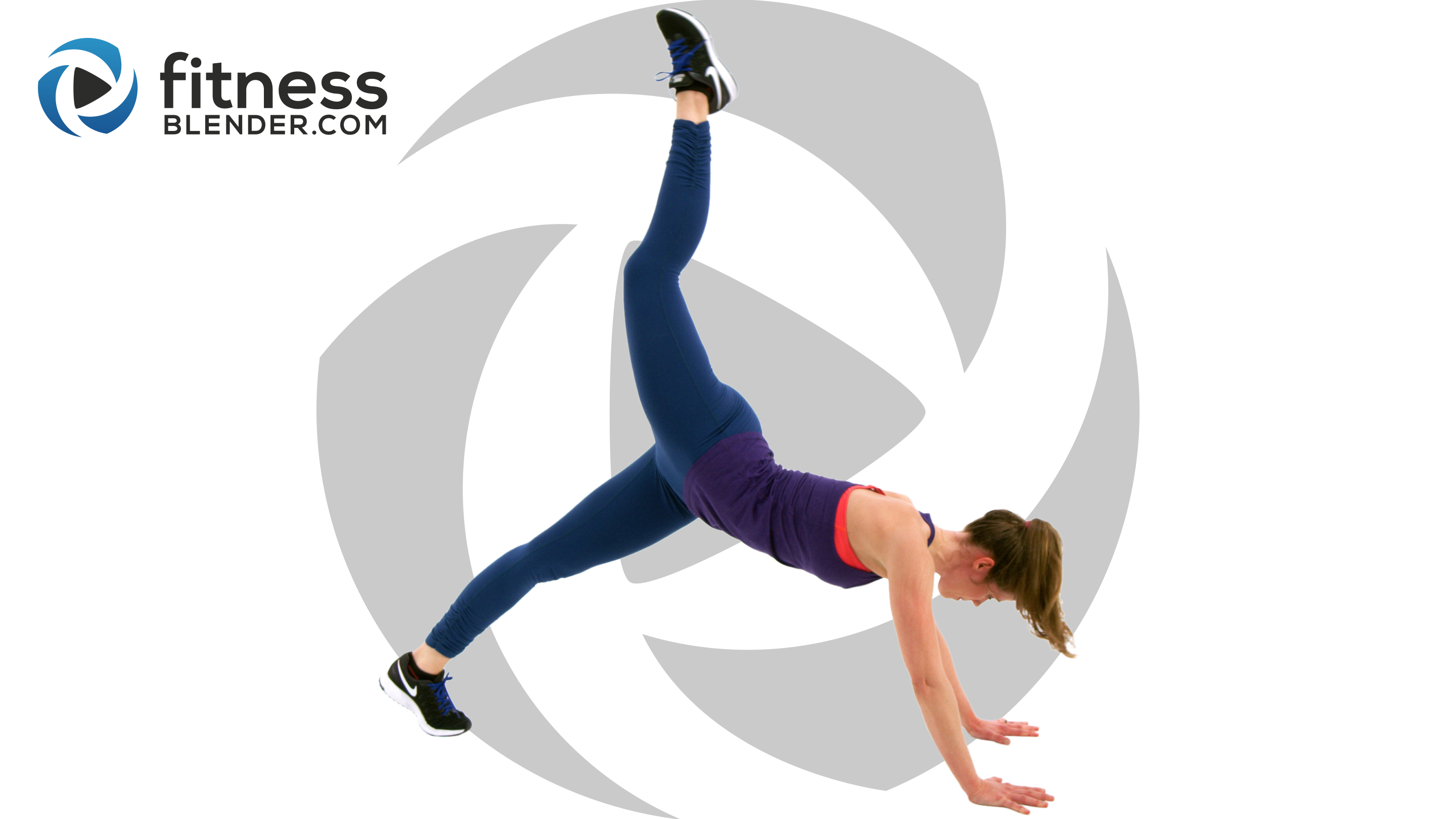 No Equipment And Thigh Workout Fat Burning Cardio Intervals Fitness Blender