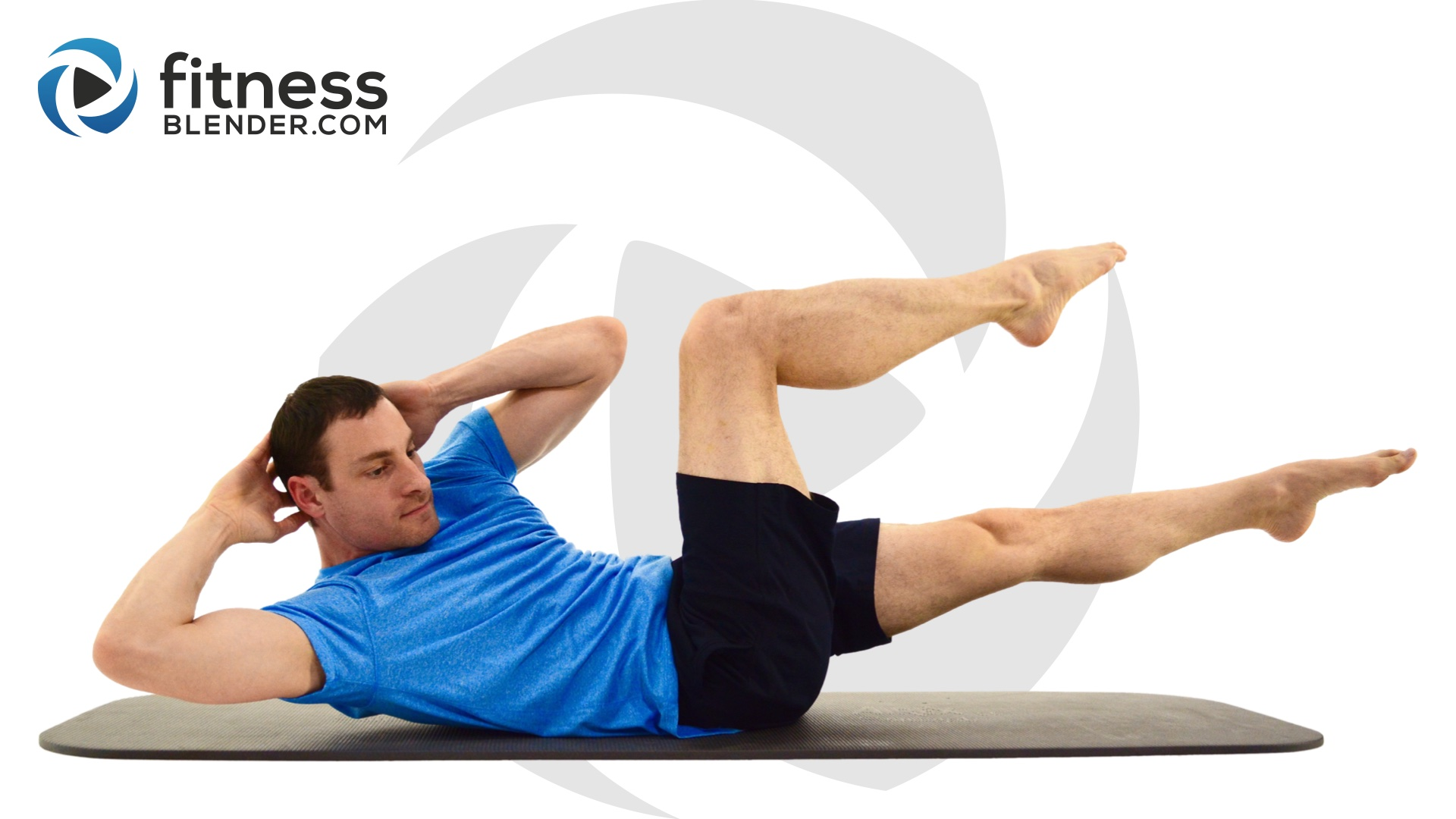 fitness blender 15 minute abs workout at home core training