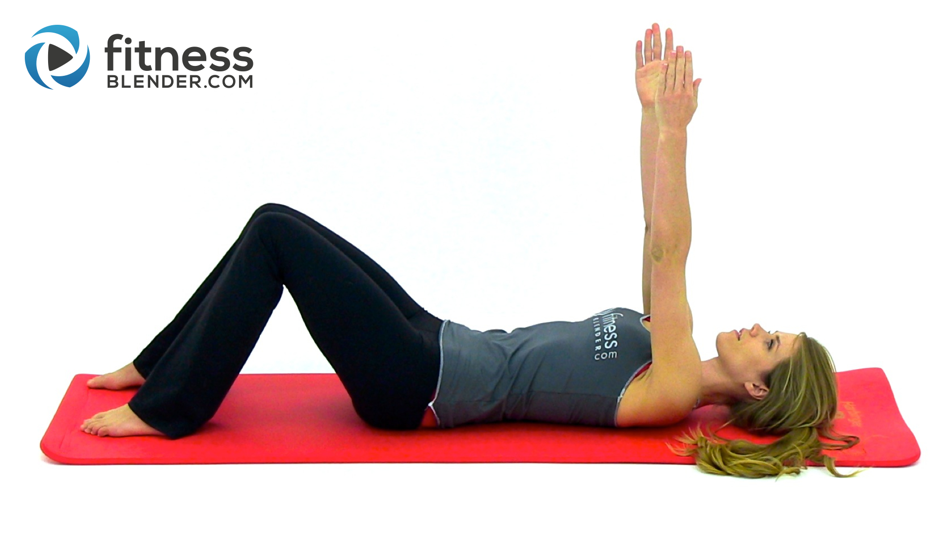 Beginner Pilates Workout Video - Great Post Pregnancy ...