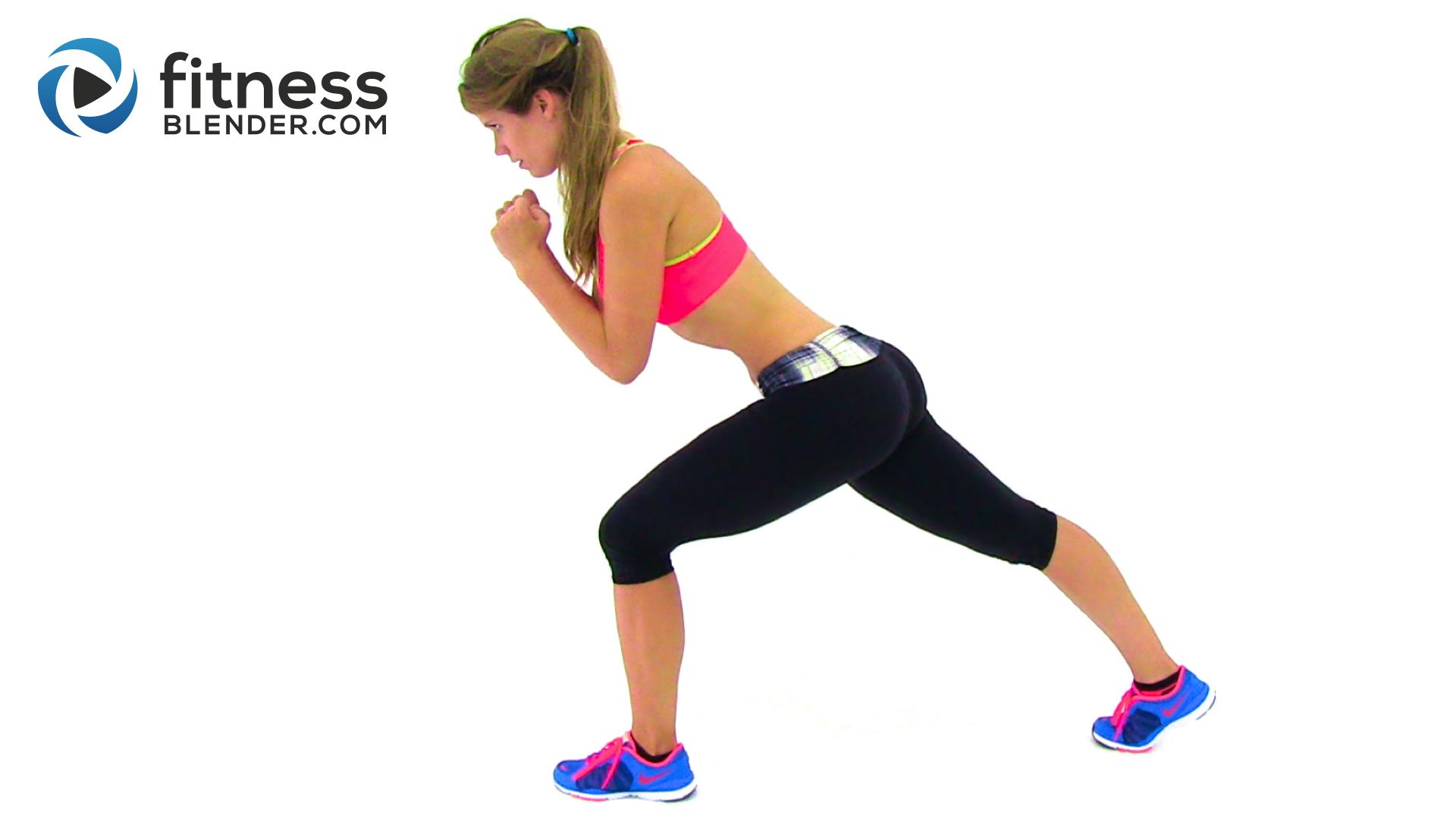 Bodyweight Cardio Workout
