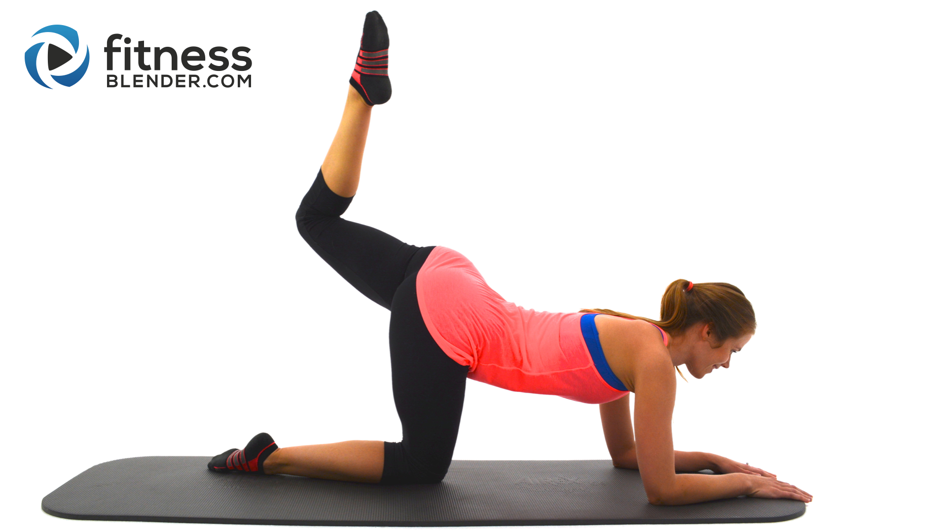 Leg slimming pilates butt and thigh workout to lift glutes