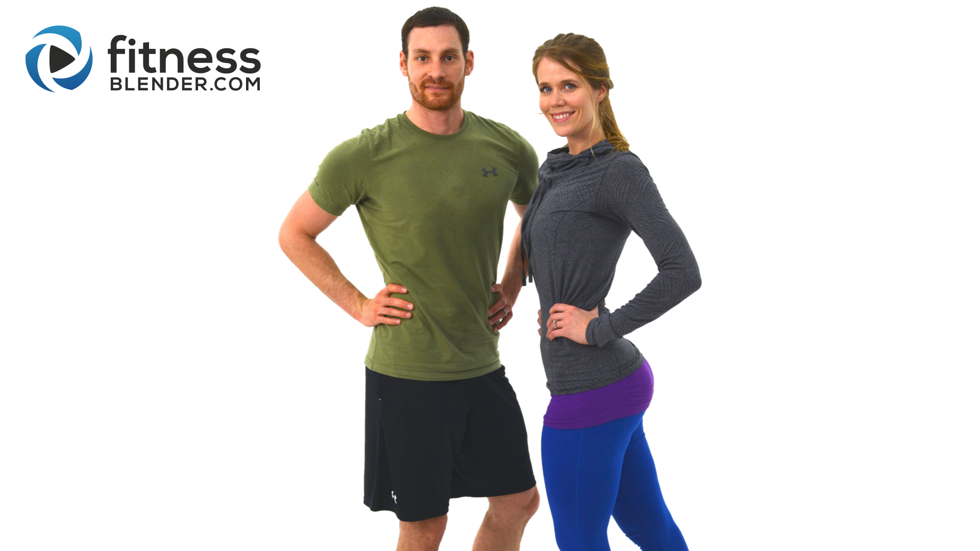Lower Body Workout with Kelli and Daniel - 40 Minute At ...