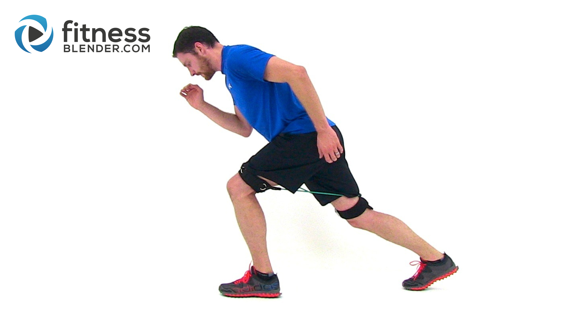 Speed Training Workout with Bands - Resistance Band HIIT for Power and Speed