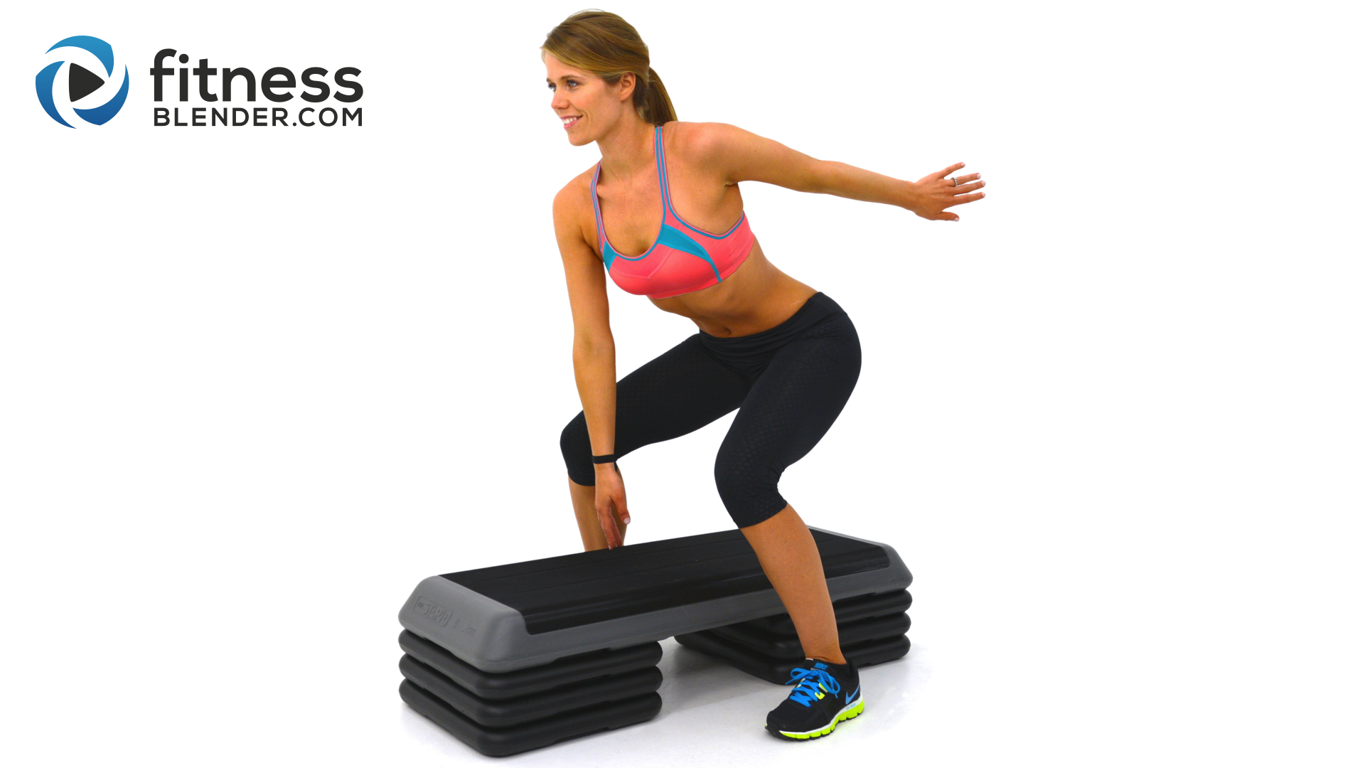 Fat Burning Cardio Step Workout for Butt and Thighs - Step ...